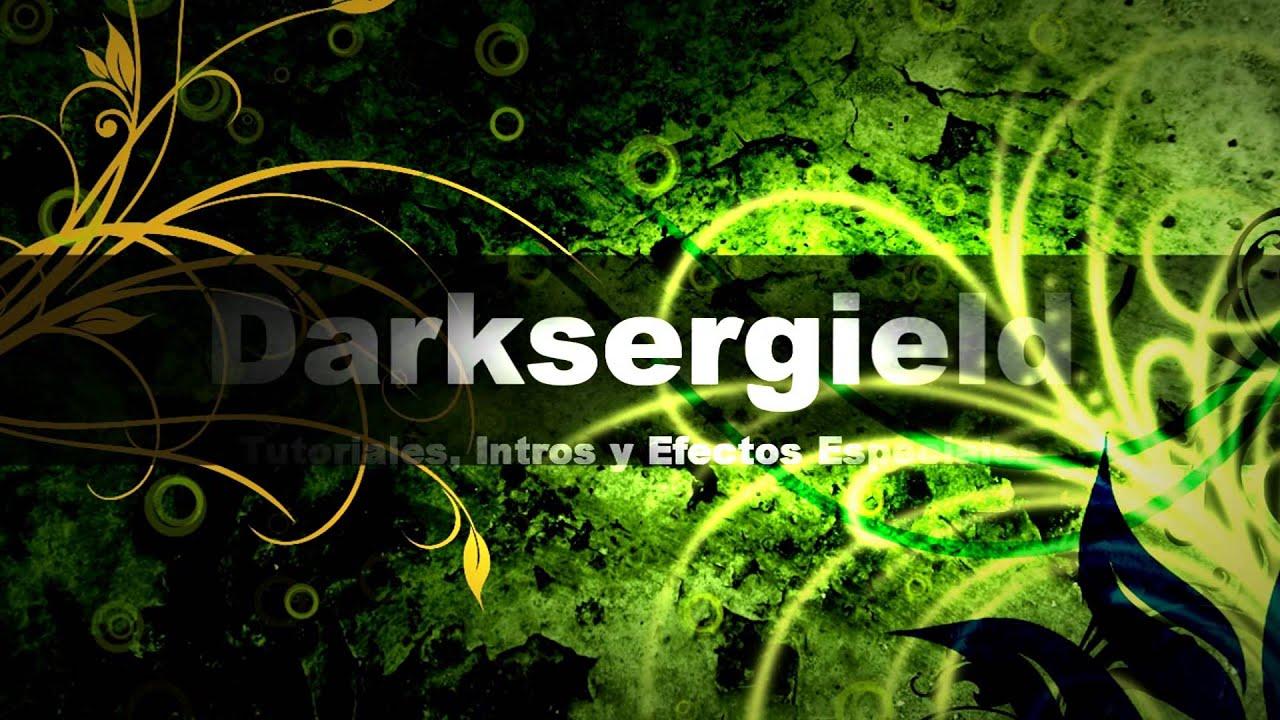 Intro Evolution Green | Editable Template Sony Vegas (HD) - YouTube