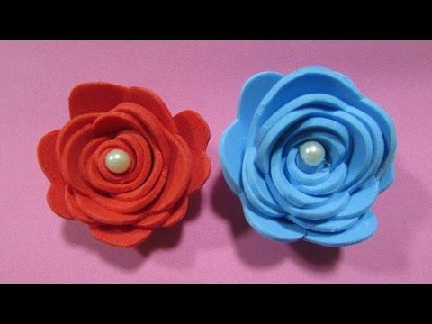 Flor de EVA - Rápido e fácil