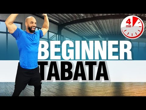 Tabata For Beginners: Low Impact Tabata Workout!