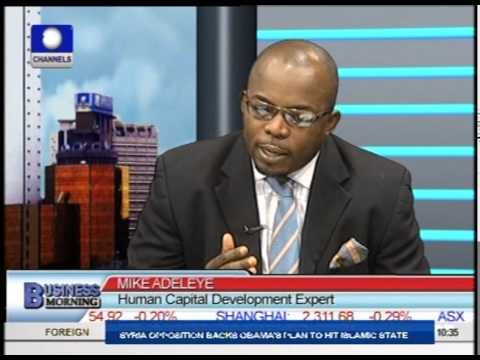 Business Morning: Focus On Nigeria's Unemployment Rate Prt 1
