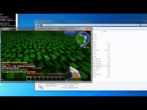 Minecraft GroupManager Full Download (Permissions)(Alle Versionen)!