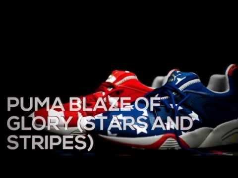 PUMA BLAZE OF GLORY (STARS AND STRIPES) /PEACE X9