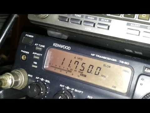 SWL Report Sri Lanka Broadcasting Corporation SLBC Reception from Sri Lanka 11750kHz