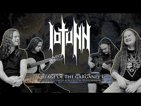 Iotunn - Voyage of the Garganey I - Song Discussion & Acoustic Performance