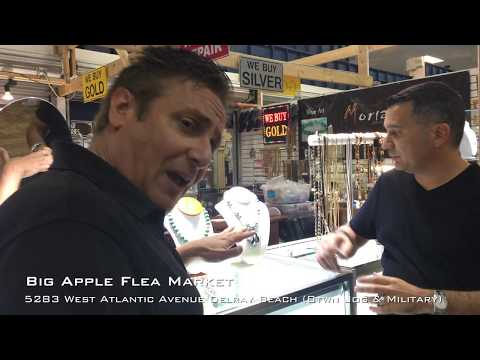 Big Apple Flea Market For Diamonds, Gold, Faux, Costume Jewelry, Shopping & Repair Delray Beach,  FL