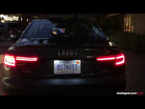 2017 Audi Front and Rear lights