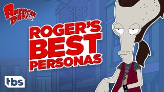 American Dad: Roger's Best Personas (Mashup) | TBS