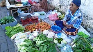 KEREN!! MEREKA MASIH SEMANGAT JUALAN !! | Pasar Kota Kulon Bondowoso - pasar sayur