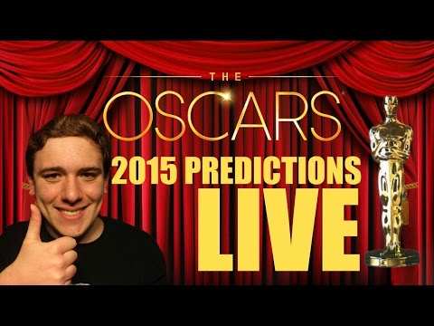 2015 Oscar Predictions (LIVE Google Hangout)
