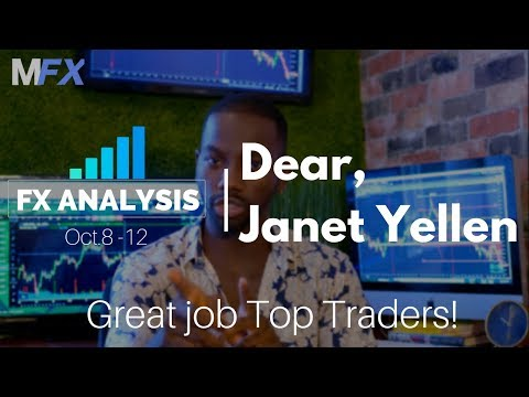 Forex Analysis | Dear, Janet Yellen | Great job Top Traders! | Technical analysis