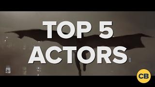 Top 5 Actors to Portray Batman