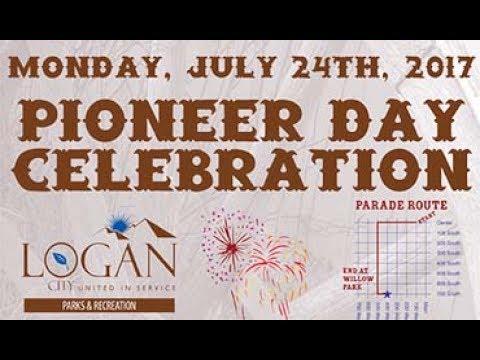 Logan Utah Pioneer Days parade 2017