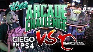Arcade Challenge VS Clawgical - RETO ¿Quién puede ganar más Tickets?