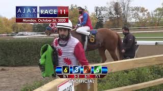 Ajax Downs October 26th, 2020 Race 11