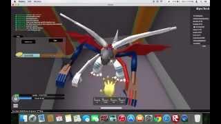 ROBLOX | Digimon Aurity - Glitch | Admin Room