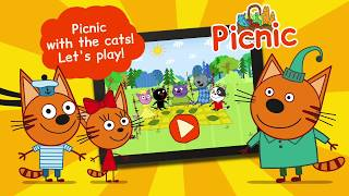 Kid-E-Cats: Picnic! Educational games for kids| Picnic game review | DEVGAME Kids