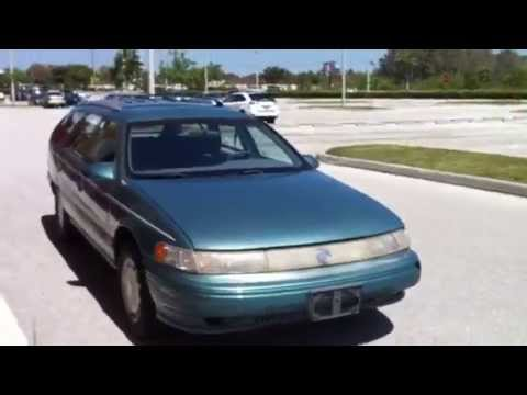 1993 MERCURY SABLE ESTATE WAGON VIDEO TOUR - YouTube