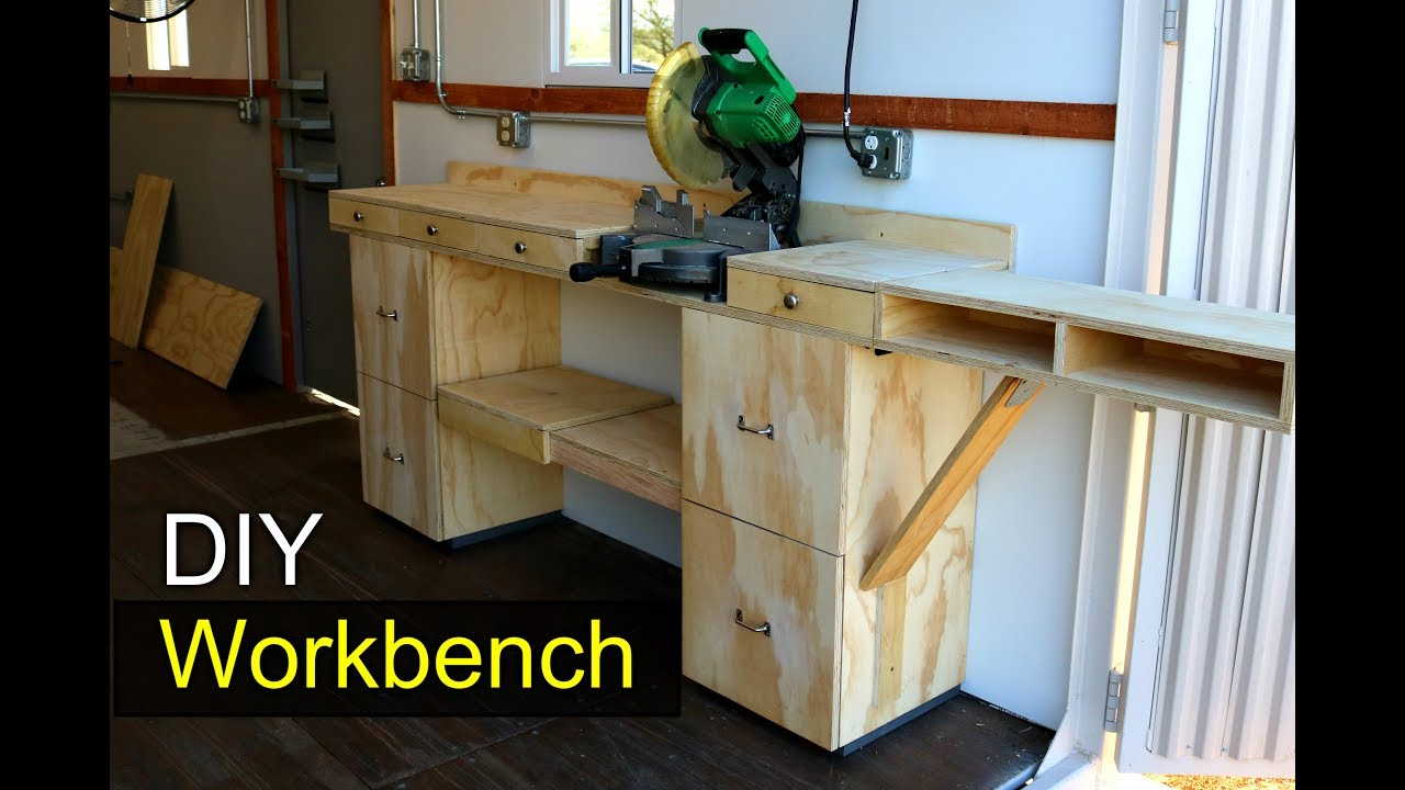Modular Workbench Shipping Container Shop Diy How To