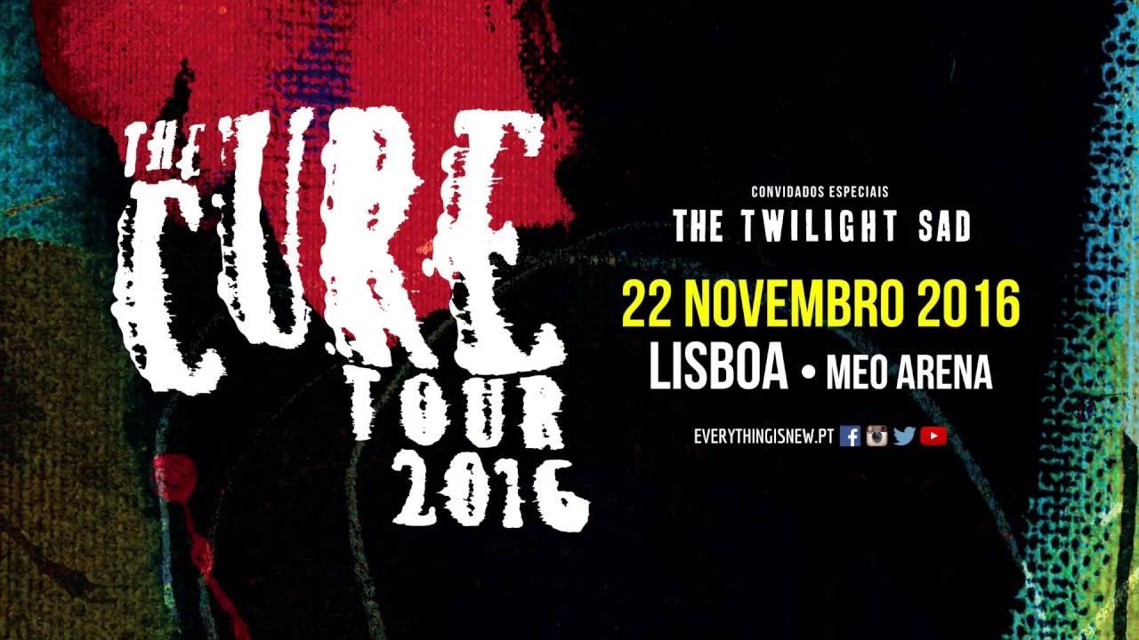 "Resultado de imagem para 22 de Novembro: Vá de comboio ao concerto dos ""The Cure"""