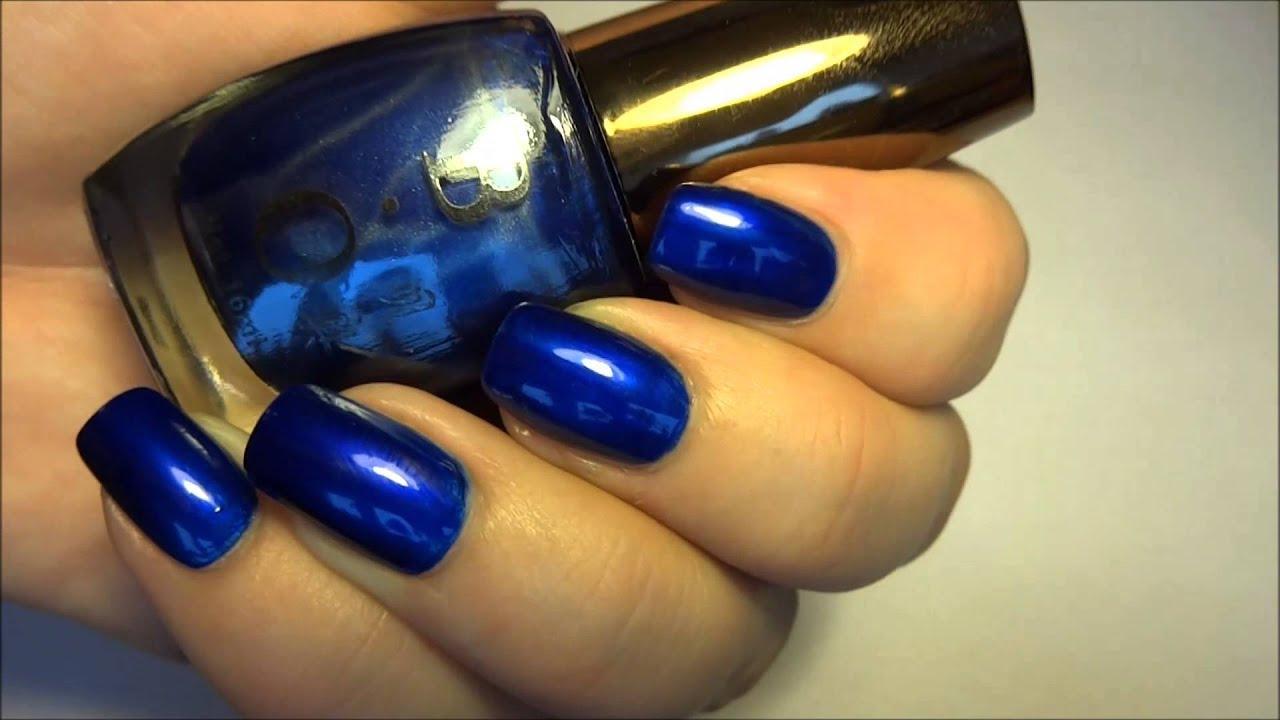 born pretty store navy blue shiny