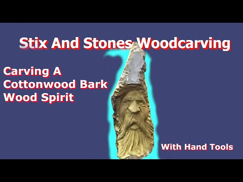 WoodCarving/Carving A Cottonwood
