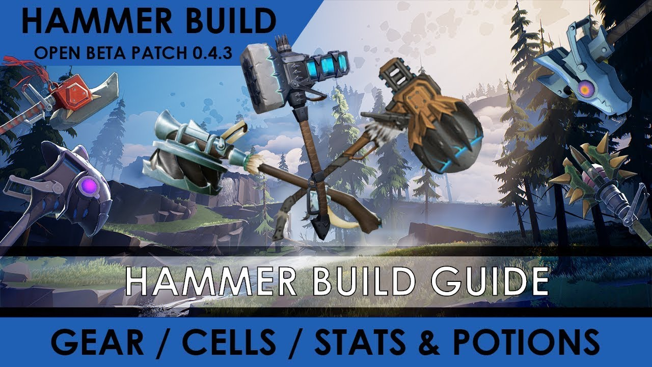Dauntless - Hammer Build for Staggering and Damage [Build Guide]