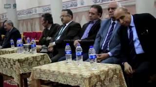 مصر العربية | حمدين صباحي وكمال أبو عيطة يشاركون في عزاء قيادي ناصري بالمحلة