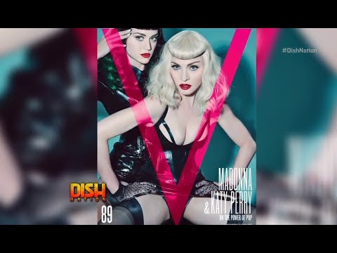 "Katy Perry And Madonna Role Play On The Cover ""V"" Magazine"