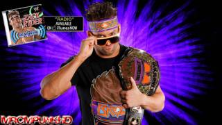 "Zack Ryder music ""Woo Woo Woo You Know It"""
