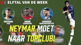 Efltal v/d Week: Neymar Kan In Frankrijk Op 1 Been Spelers Uitspelen!