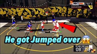 I GOT A JUMP OVER DUNK ANIMATION IN NBA 2K20!