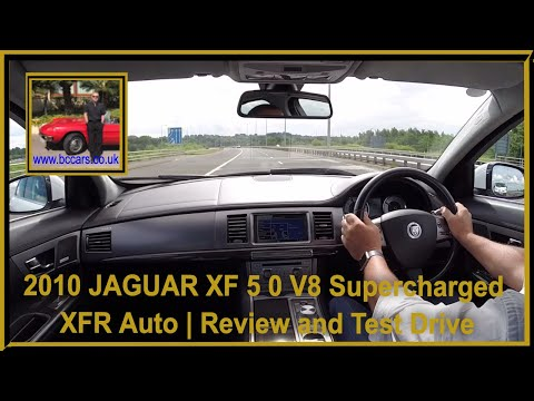 Virtual Video Test Drive in our 2010 60 JAGUAR XF 5 0 V8 Supercharged XFR Auto