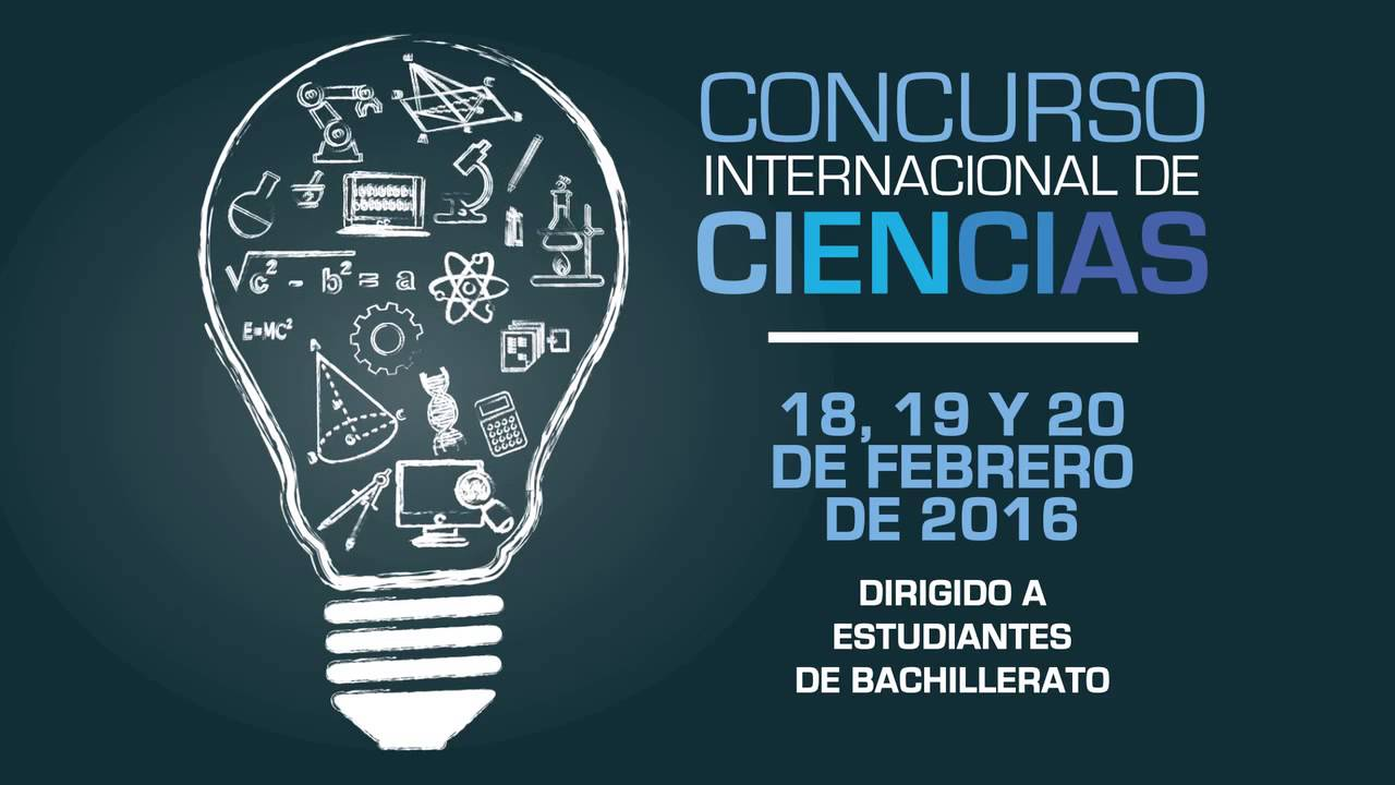 concurso internacional de ciencias 2016 youtube