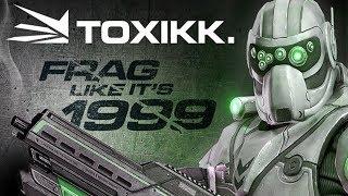 Обзор динамичного онлайн шутера TOXIKK или Quake ?