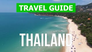 Thailand travel guide | Phuket, Samui, Pattaya, Bangkok city | drone video 4k | Thailand from above