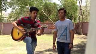 kailash kher -Tu meri jaan hai - acoustic cover by vivek and hiren
