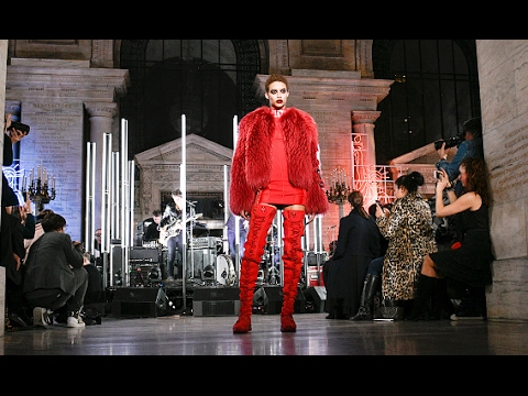 976e8a9c63 Philipp Plein's FW17/18 Runway Show at The New York Public Library