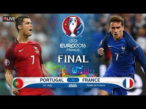 [สดก่อนบอลเตะ] PES Euro 2016 คู่ชิง ฝรั่งเศส - โปรตุเกส