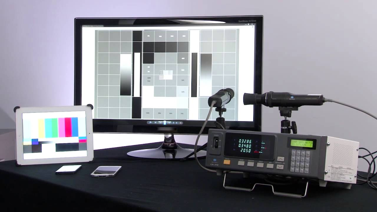 Measure High Performance Displays With CA-310 Display