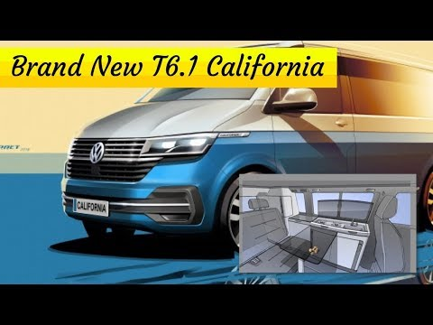 Introducing the Brand New VW T6.1 California