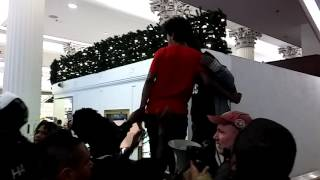 RAW: Protesters storm Macy's on State Street