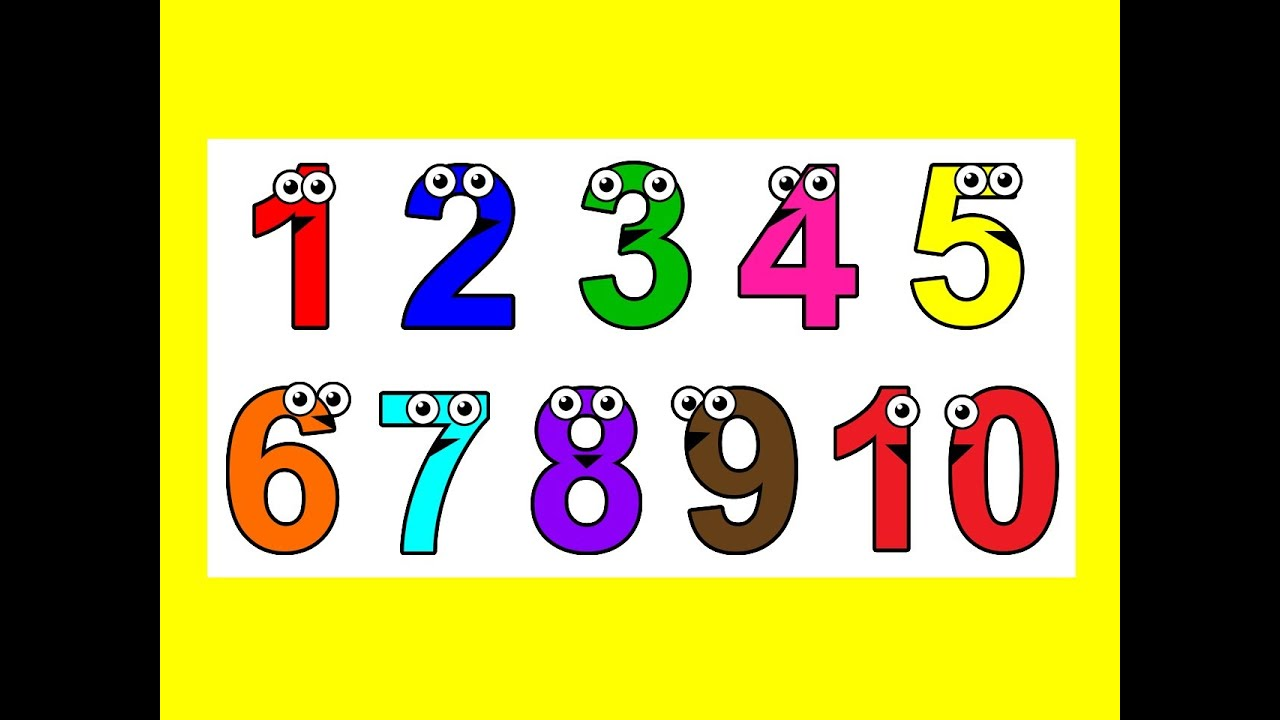 Worksheets Number Images 1-10 sing to 10 learn counting numbers 1 baby toddler learning nursery rhymes youtube