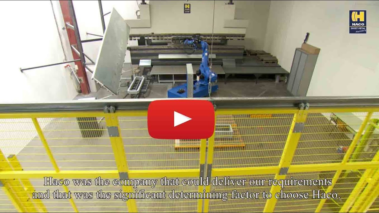 Automated bending or robot bending - Haco