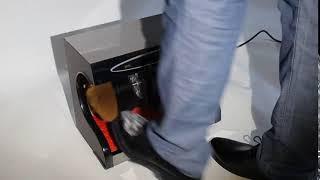 구두닦이 자동 신발세척기 세무신발 관리 구두약 구두솔