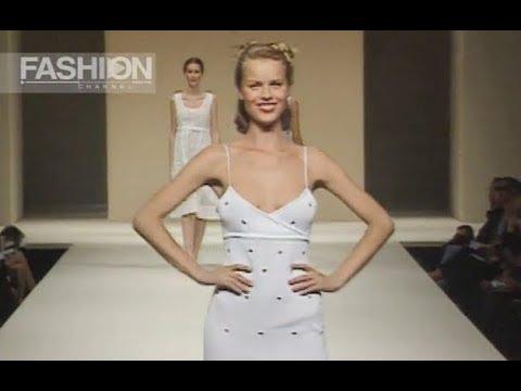 LAURA BIAGIOTTI Spring Summer 1998 Milan - Fashion Channel