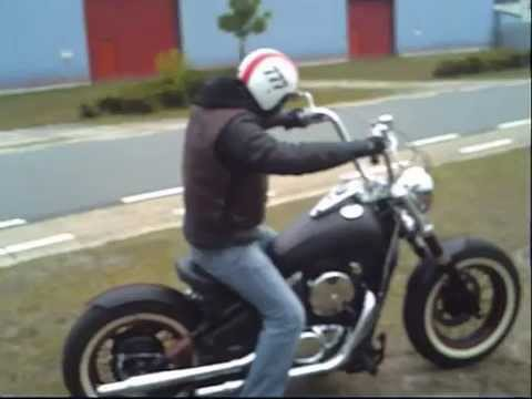 kawasaki vn800 bobber chopper youtube. Black Bedroom Furniture Sets. Home Design Ideas