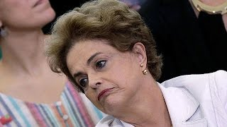 Brazilian president accuses top political figures of leading coup against her