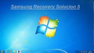 AYUDA ¡¡¡Error al Intentar instalar Samsung Recovery Solucion 5