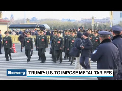 China Offers Strong Reaction to Trump's Tariffs