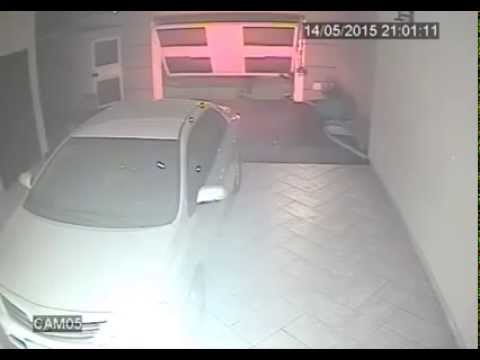 Thugs Are Gunned Down As They Attempt To Rob The WRONG Driver In His Garage 2015